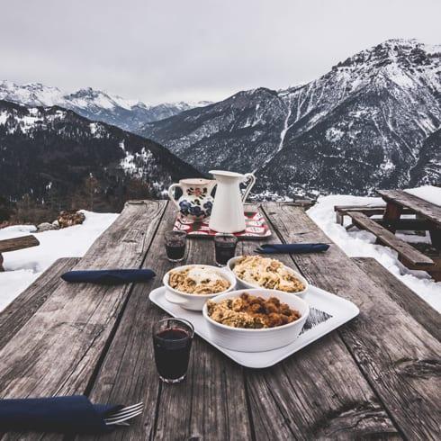 Cosa fare in inverno in Val di Susa - Polenta-in-alta-quota